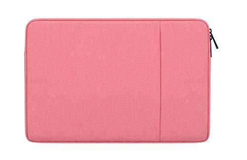 DOT. Funda para portátil de 14 a 15,4 pulgadas, resistente al agua, de neopreno, para ordenador portátil, tablet, maletín de transporte, para Acer/Asus, Dell, Lenovo/HP y más (14' a 15,4'), color rosa