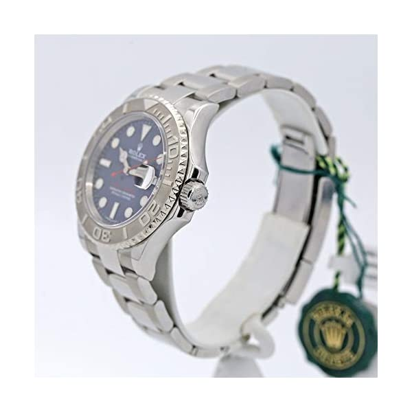 Fashion Shopping Rolex 16622 Oyster Perpetual Yacht-Master Steel with Platinum Mens Watch Silver Dial
