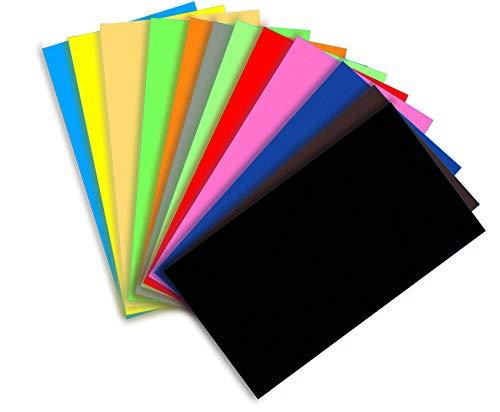 Goma Eva 40 x 60cm,10 Láminas 2mm Grosor Color Surtido