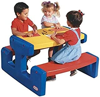 Little Tikes Large Picnic Table, Blue 466800060