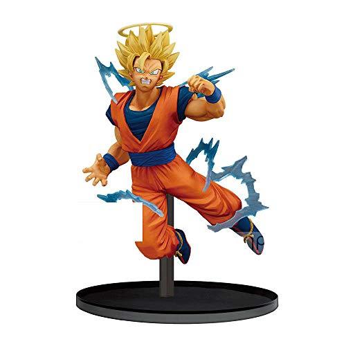 Banpresto Dragon Ball Z Dokkan Battle Collab-Super Saiyan 2 Goku-, Multiple Colors