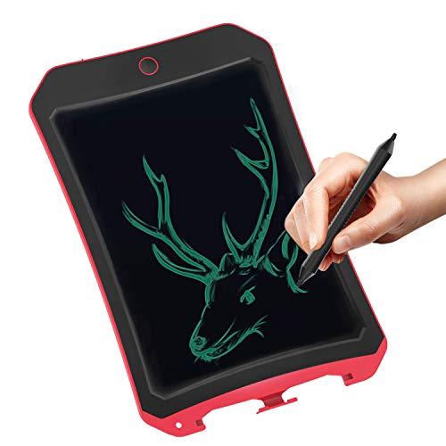 JRD&BS WINL LCD-Wordpad-Geburtstagsgeschenk, Kinderspielzeug 8,5 Zoll LCD-Schreibtafel Elektronische Schreibtafel Zeichenbrett Kindergeschenk BÜRotafel - Enthält Löschen Tastensperre(Rot2)