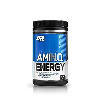 Optimum Nutrition Amino Energy Diet Supplement, 270 g, Blue Raspberry