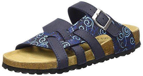 Supersoft Damen 274 147 Pantoffeln, Blau (Navy Multi), 38 EU