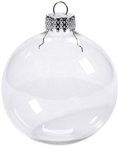 youseexmas kerstballen hangende glazen BOL decoratieve BOL Van Glas, Diameter 8 cm 6 stuks (MEERWEG)