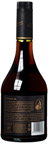 TORRES BRANDY 15 RESERVA PRIVADO (1x 0,7l) – aus der spanischen Weinbauregion Penedès – in statischer Lagerung und Solera-Verfahren gereift – 70cl mit 40% vol. - 3