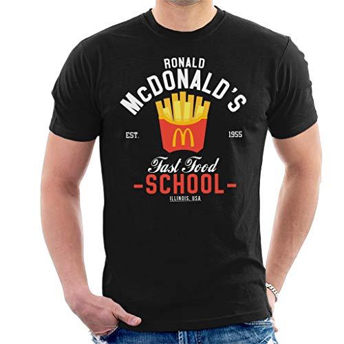 Ronald McDonalds Fast Food School Men\'s T-Shirt