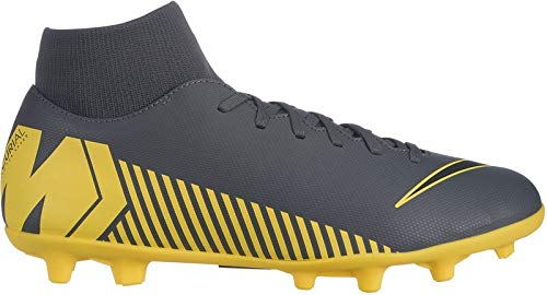 Nike Herren Superfly 6 Club MG Fußballschuhe, Grau (Dark Grey/Black-Opti Yellow 070), 39 1/3 EU