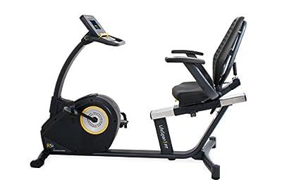 LifeSpan Fitness Recumbent Bike LifeSpan R5i Recumbent Stationary Bike, Black