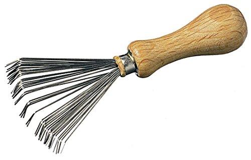 Keller Bürsten- und Kammreiniger mit Holzgriff für alle Bürstengrößen