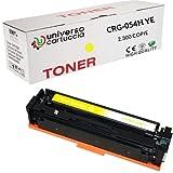 UniversoCartuccia® Tóner compatible no OEM CRG-054H de alta capacidad para Canon i-SENSYS LBP621Cw/LBP623Cw/MF641Cw/MF643Cdw/MF645Cx Canon Color imageCLASS MF642Cdw/MF641Cw/MF644Cdw/LBP622Cdw