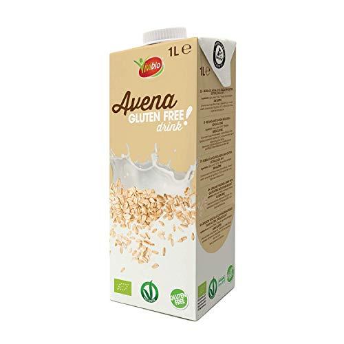 Vivibio Bevanda Avena Drink senza Glutine Bio - 6 bottiglie da 1 l