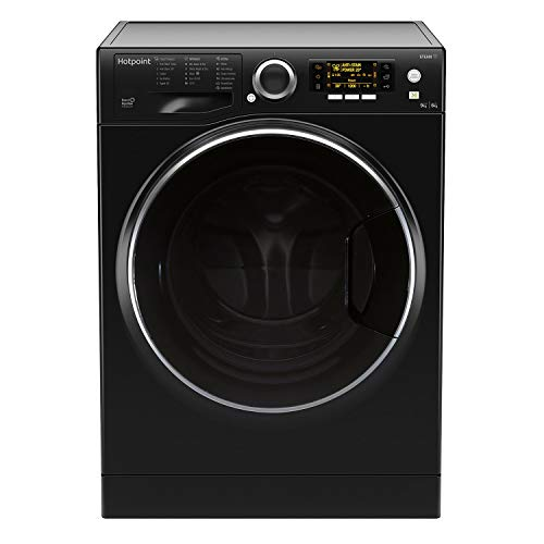 Hotpoint RD966JKDUKN 9kg Wash 6kg Dry 1600rpm Freestanding Washer Dryer - Black