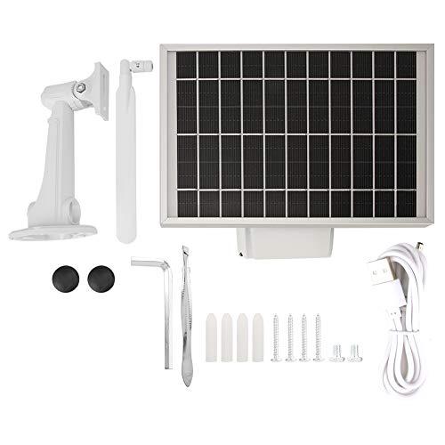 zcyg Cámara Cámara de vigilancia Cámara de Seguridad Cámara Solar, Cámara IP Solar Inalámbrica 1080P 4G con Panel Solar De Alta Potencia De 5,5W (mar + SA)