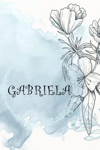GABRIELA: Nombre personalizado de AccuinoGABRIELA, Cumpleaños o Navidad o Día de San Valentín o Regalo de Acción de Gracias para Esposa, Mamá, Hermana, Hija, Diseño