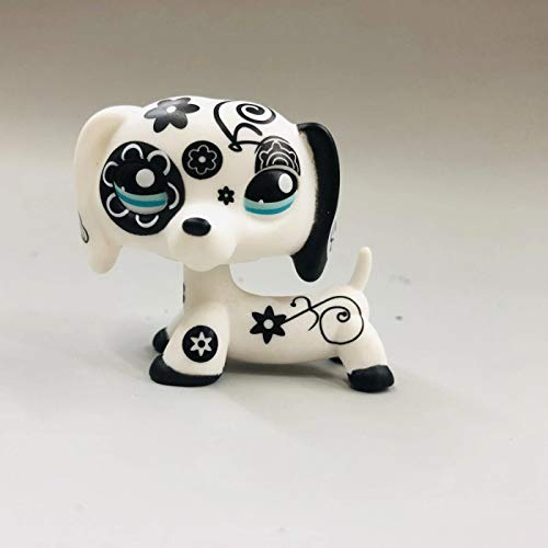 RETY Pet Shop Toys, LPS Dogs and Cats, Gifts for The Smallest pet Shop Lovers LemonYellow