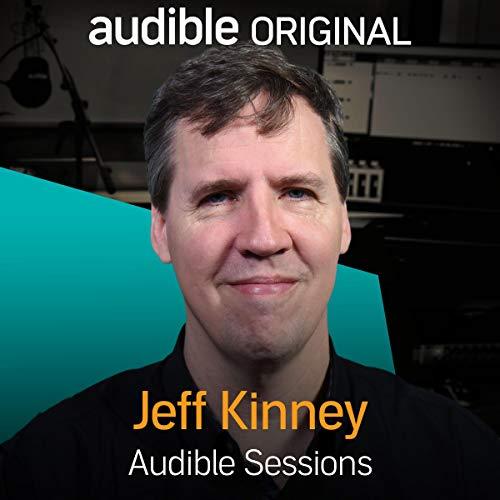 Jeff Kinney audiobook cover art