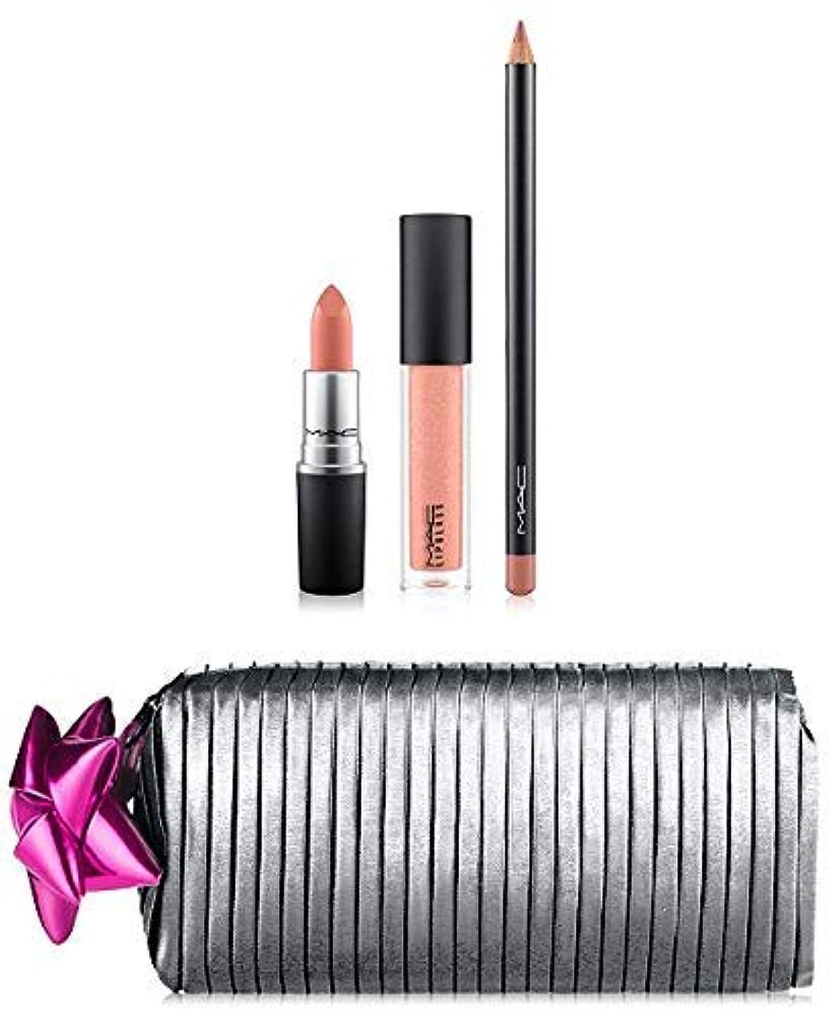 ヒューマニスティック実行可能翻訳する【MAC】 グッディバッグ Shiny Pretty Things Goody Bag: Nude Lips