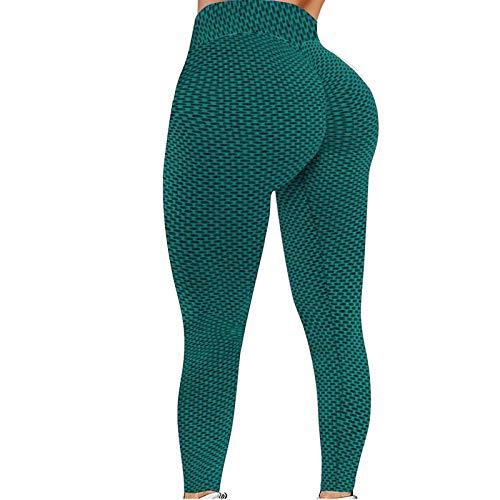 CXDS Dames Hoge Taille Gym Leggings - Full Color Gedrukt Leggings Niet Doorzien Yoga Broek met Zakken voor Gym, Fietsen, Yoga, Hardlopen, Dagelijkse Vrije tijd