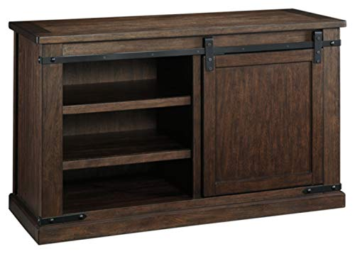Signature Design by Ashley Budmore Medium TV Stand Rustic Brown
