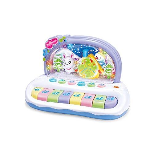 TYZXR Kinderspielzeug Puzzle Musik gebührenpflichtig gebührenpflichtig mädchen 3 Jahre Alter Junge früh Lernen Spielzeug Schneeflocke Lichter gebührenpflichtig (Farbe: Mehrfarbig)