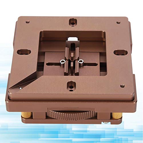 Sujeción rápida de oro de 80 x 80 mm para estación de recuperación BGA para soldadura manual BGA