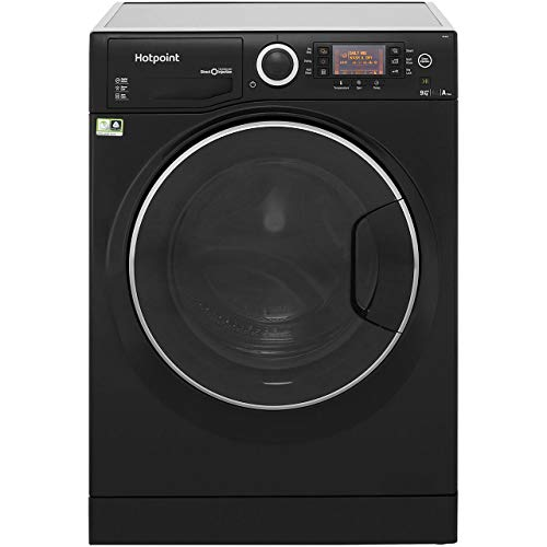 Hotpoint RD966JKD A Rated Freestanding Washer Dryer - Black