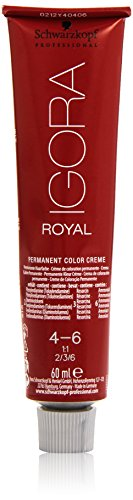 Schwarzkopf IGORA Royal Premium-Haarfarbe 4-6 mittelbraun schoko, 1er Pack (1 x 60 g)