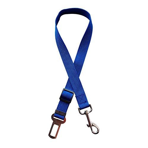 XYBB hondenriem, verstelbaar, voor kleine honden, accessoires voor huisdieren, 10 kleuren, 45-72cm width 2.5cm,  Rosa Roja