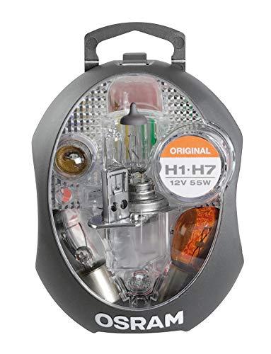 Osram CLK H1/H7 Original Ersatzlampenbox, Halogen-Scheinwerferlampen und Signallampen