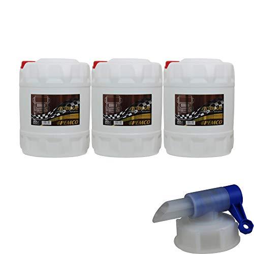 60L PEMCO AdBlue Kraftstoffadditiv Harnstofflösung PM3001 inkl. Auslaufhahn