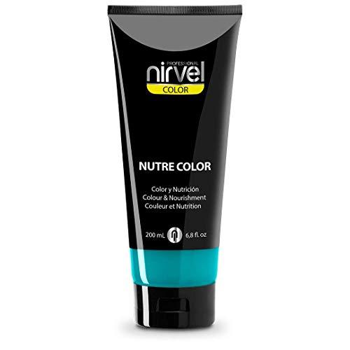 Nirvel NUTRE COLOR - Coloración Temporal, 200 ml, Turquesa