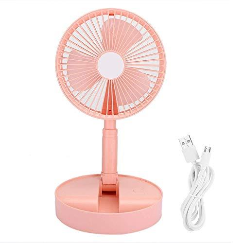 MUMUMI Ventiladores Usb Ventilador Silencioso Usb de Tres Cuchillas Ventilador de Escritorio Portátil para el Hogar para la Oficina