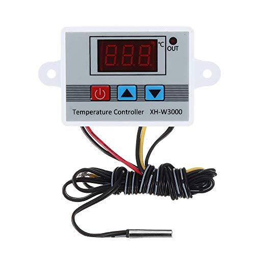 DollaTek XH-w3000 AC 220v -50~100 ℃ micro termostato digital interruptor de control de temperatura de alta precisión