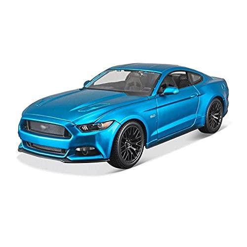 YLJYJ Modelo de Coche Compatible con Ford Mustang GT Modelo de Coche 1:18 Modelo a Escala Modelo de aleación Modelo de fundición a presión Colección Decorativ (Coche Inteligente)