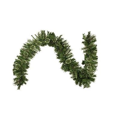Northlight 9' x 14  Cashmere Mixed Pine Artificial Christmas Garland - Unlit