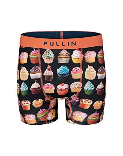Boxer Homme Fashion 2 Cupcake,Multicolore,M