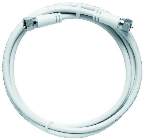 Axing MAK 150-80 doppelt geschirmtes Modem-Kabel Koaxialkabel Class A mit F-Stecker 1,5 m