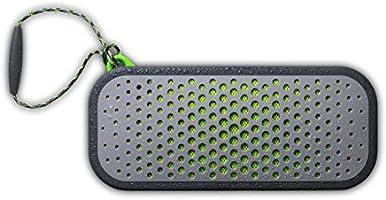 Boompods 'Blockblaster' 32W tragbarer HiFi-Bluetooth-Lautsprecher, wasserdicht IPX7 in Grau / Grün