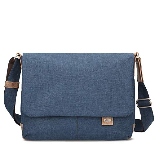zwei Olli OT13 Messenger Bag 33 cm schwarz