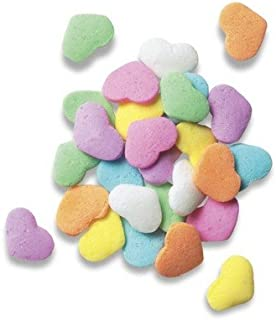 Pastel Hearts Quins Edible Sprinkles - 8 oz