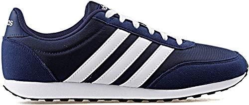 adidas Herren V Racer 2.0 Fitnessschuhe, Blau (Azuosc/Ftwbla/Ftwbla 000), 44 2/3 EU