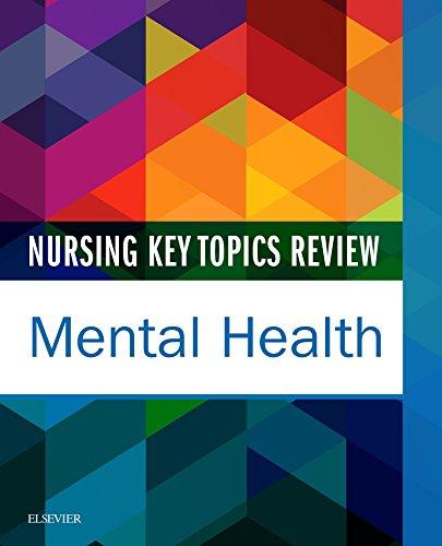 41QyoxBnckL - Nursing Key Topics Review: Mental Health - E-Book