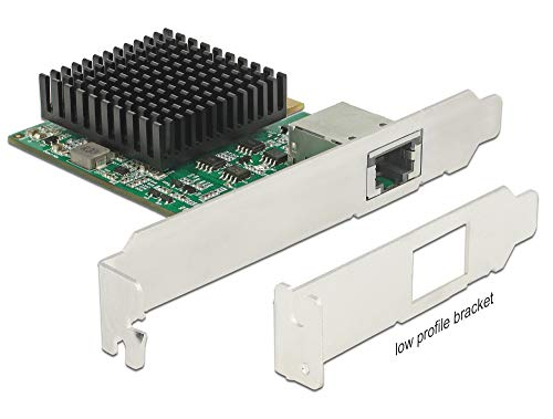 DeLOCK PCI Express Karte zu 1x10 Gigabit LAN RJ45 10 Gbit 89587