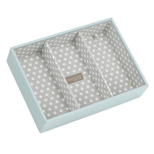Stackers Classic Size |Caja de la joyería Organizador con 3 Secciones Profundas...