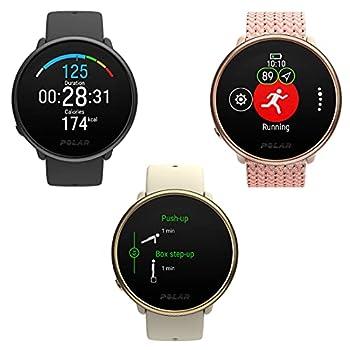 Polar Ignite 2 - Montre connectée fitness - GPS, Suivi de la fréquence cardiaque au poignet, Guide d'entraînement personnalisé, Suivi du sommeil et de la récupération, Météo, Fonctions intelligentes