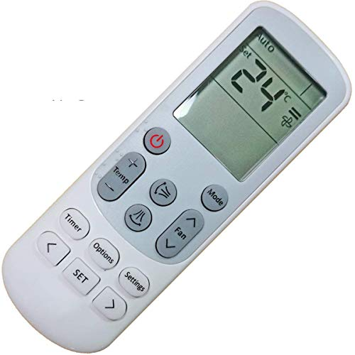 Replacement DB93-15169G Samsung Remote Control for Samsung A/C Air Conditioner DB93-14643F...