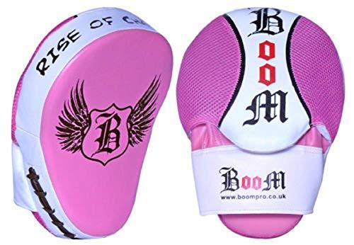 BOOM Prime Ladies Boxeo Curved Manoplas de Boxeo Saco de Boxeo MMA Guantes de Boxeo y Kick Escudo formación