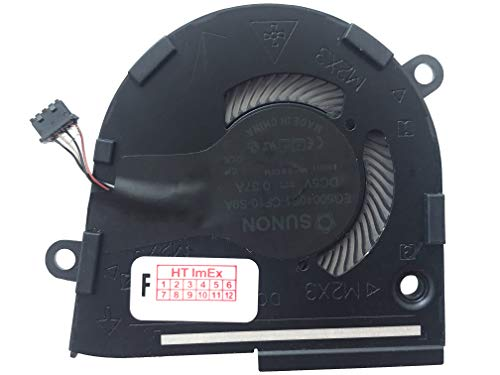 Fan Cooler Compatible with Dell Latitude 7400 8N6DH, Latitude 7400 13MYK, Latitude 7400 (1408) (XXJNR)