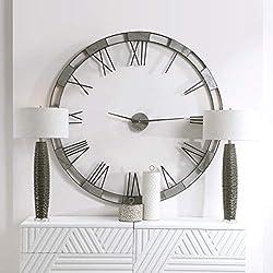 AR Lighting Alistair Modern Wall Clock